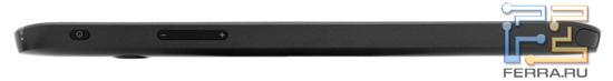 Верхняя грань Dell Streak 7