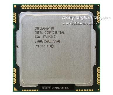 процессор core i7 870 сверху