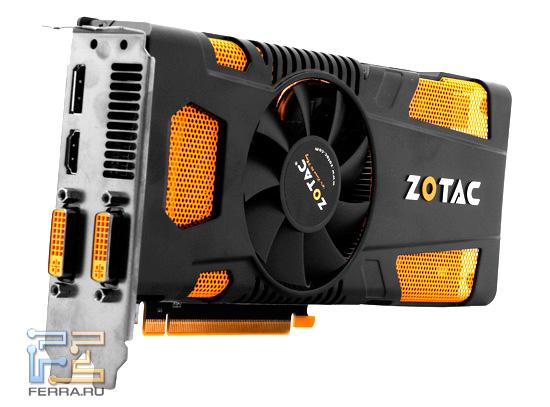 Видеокарта ZOTAC GTX 560 Ti 448 Cores